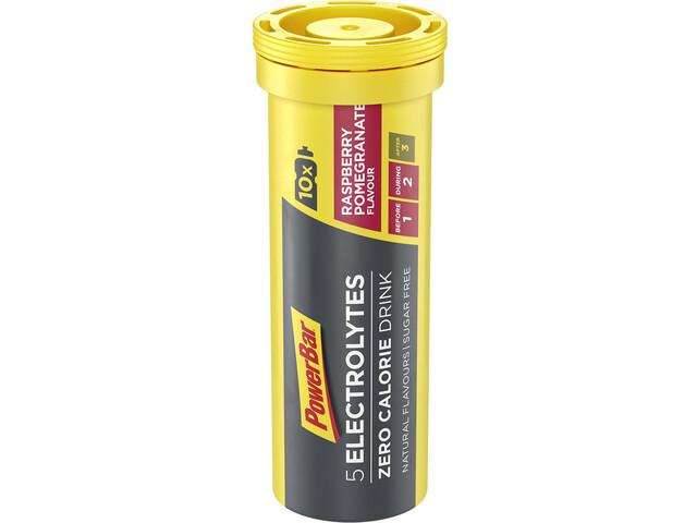 PowerBar 5 Electrolytes Zero Calorie Sportdrank Tabletten 10 stuks, Raspberry-Pomegranate